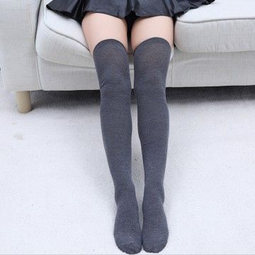 Гольфы темно серые за колено