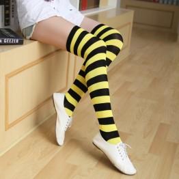 Гольфы пчела полосатые желто черные