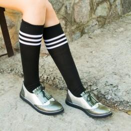 Туфли с бахромой 7929